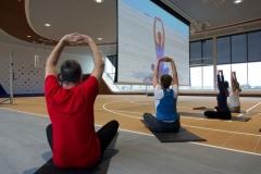 Mein Schiff 1 - Arena Yoga - © Peggy Günther