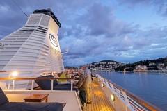 Seadream2, Balinesische-u-Sonnenbetten, Seadream Cruises, Dubrovnik-Rom, 19