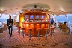 Seadream2, Top-Of-The-Yacht-Bar, Seadream Cruises, Dubrovnik-Rom, 19