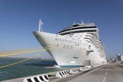 Seven-Seas-Splendor_Regent-aussen_Livorno_20, Foto: enapress.com