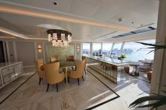 Seven-Seas-Splendor_Regent_Regent-Suite_Essbereich, Foto: enapress.com